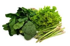 代謝をあげる健康法:緑の野菜